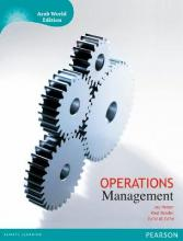 Operations Management with MyOMLab