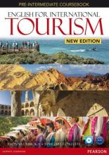 English for International Tourism Pre-Intermediate New Edition Workbook without Key and Audio CD Pack