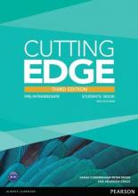 Cutting Edge: Pre-Intermediate Students' Book and DVD Pack
