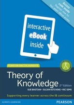 Pearson Baccalaureate Theory of Knowledge second edition for the IB Diploma (ebook only)