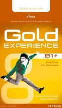 Gold Experience B1+ eText Student Access Card