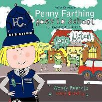 Police Constable Penny Farthing Goes to School