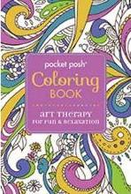 Pocket Posh Coloring Book : Art Therapy for Fun and Relaxation