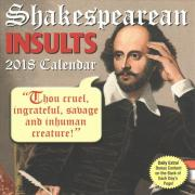 Shakespearean Insults 2018 Day-To-Day Calendar