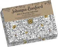 Johanna Basford 2018 Coloring Day-To-Day Calendar