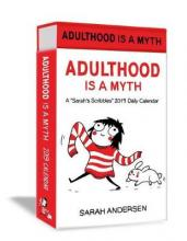 Sarah Scribbles: Adulthood is a Myth 2019 Deluxe Day-to-Day Calendar