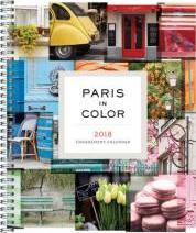 2018 Engagement Calendar: Paris in Color 2018