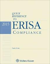 Quick Reference to Erisa Compliance 2015e
