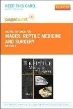 Reptile Medicine and Surgery - Elsevier eBook on Vitalsource (Retail Access Card)