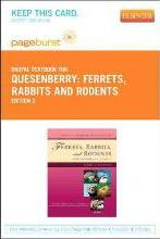Ferrets, Rabbits and Rodents - Pageburst Digital Book (Retail Access Card)