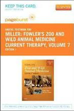 Fowler's Zoo and Wild Animal Medicine Current Therapy, Volume 7 - Elsevier eBook on Vitalsource (Retail Access Card)