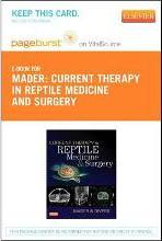 Current Therapy in Reptile Medicine and Surgery - Elsevier eBook on Vitalsource (Retail Access Card)