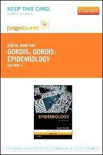 Epidemiology - Pageburst E-Book on Vitalsource (Retail Access Card)