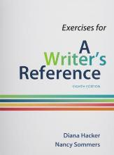 Exercises for a Writer's Reference, Large Format