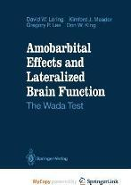 Amobarbital Effects and Lateralized Brain Function