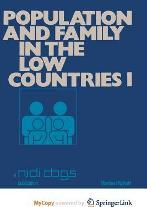 Population and Family in the Low Countries