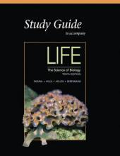 Study Guide for Life: The Science of Biology