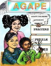 Agape Coloring Activity Book of Prayers Puzzle Games