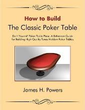 How to Build the Classic Poker Table Do It Yourself Poker Table Plans
