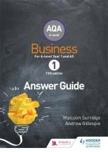 AQA Business for A Level 1 (Surridge & Gillespie): Answers