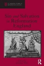 Sin and Salvation in Reformation England