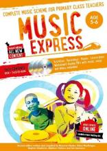 Music Express: Age 5-6 (Book + 3 CDs + DVD-ROM)