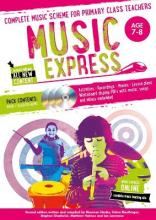 Music Express: Age 7-8 (Book + 3CDs + DVD-ROM)