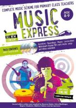 Music Express: Age 8-9 (Book + 3CDs + DVD-ROM)