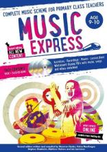 Music Express: Age 9-10 (Book + 3CDs + DVD-ROM)