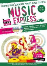 Music Express: Age 10-11 (Book + 3CDs + DVD-ROM)