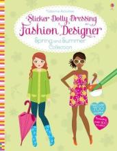 Sticker Dolly Dressing Fashion Designer Spring And Summer Collection Fiona Watt 9781474935920