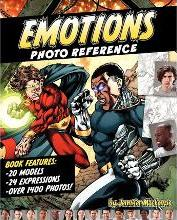 Emotions Photo Reference for Illustrators & Artists Volume 1
