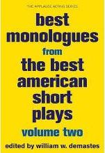 Best Monologues from The Best American Short Plays