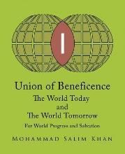 Union of Beneficence the World Today and the World Tomorrow