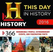 History Channel This Day in History 2016 Boxed Calendar