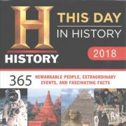 2018 History Channel This Day in History Boxed Calendar