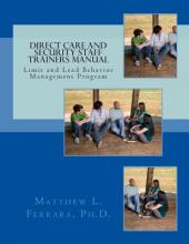 Direct Care and Security Staff Trainers Manual