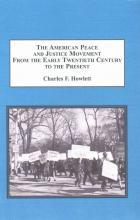 The American Peace and Justice Movement