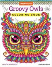 Groovy Owls Coloring Book
