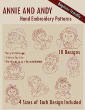 Ann and Andy Hand Embroidery Patterns