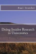 Doing Insider Research in Universities