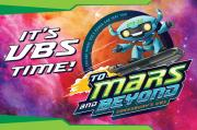 Vacation Bible School 2019 to Mars and Beyond Invitation Postcards