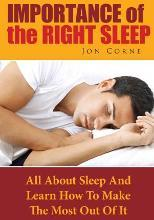 Importance of the Right Sleep
