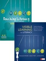 BUNDLE: Fisher: Teaching Literacy in the Visible Learning Classroom, Grades 6-12 + Fisher: Visible Learning for Literacy