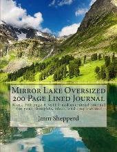 Mirror Lake Oversized 200 Page Lined Journal