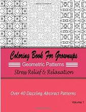 Coloring Books for Grownups Geometric Patterns