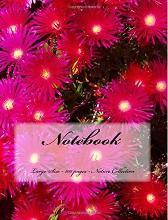 Notebook - Large Size - 100 Pages - Nature Collection