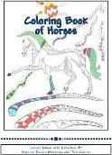 Coloring Book of Horses
