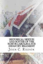 Historical Sketch and Roster of the North Carolina 8th Infantry Regiment