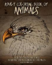 Adult Coloring Book of Animals